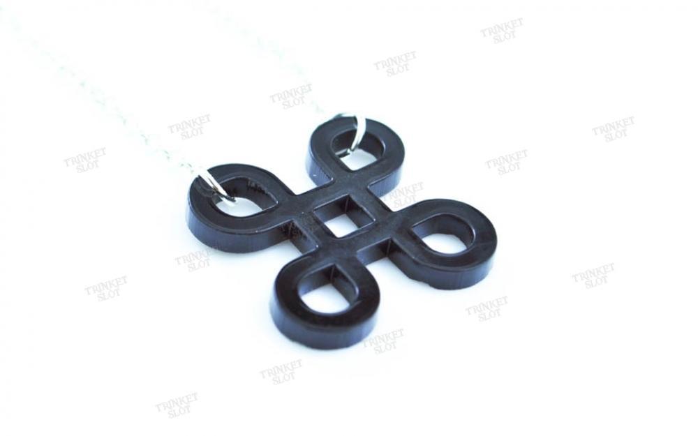 Mac Command Key Necklace Trinket Slot