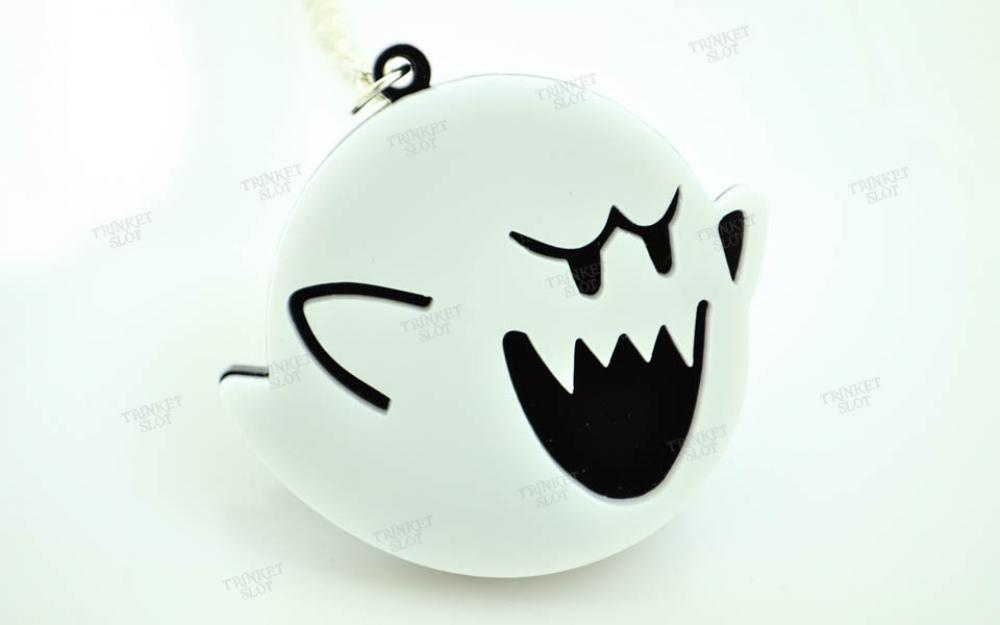 Super Mario Boo Ghost Necklace Trinket Slot