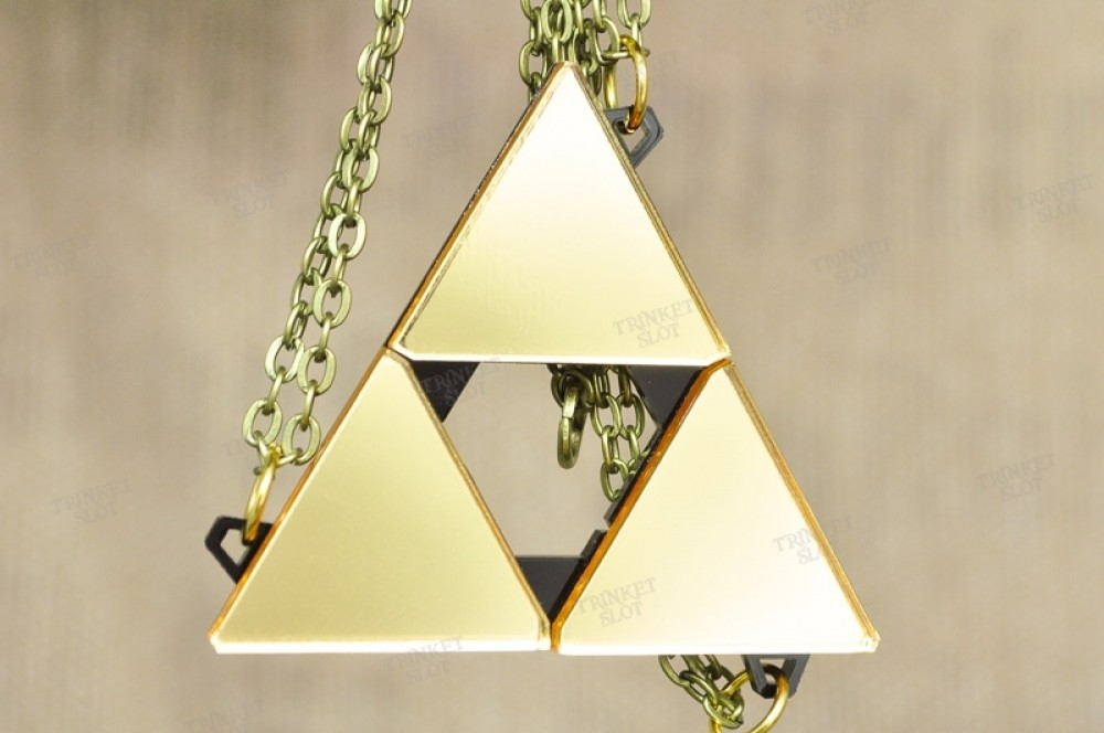 Zelda Triforce Triple Triangle Friendship Set