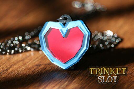 Zelda Heart Container Necklace
